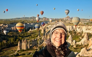 "Beverley Barling presents ""A View of Turkey"" on May 3."