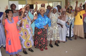 Gogos sing out loud and strong!