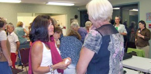 Grannies Socializing