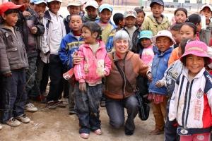Mary Stebbins in Tibet