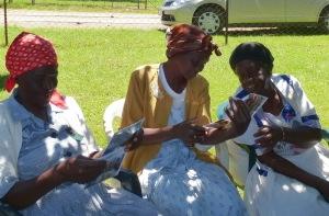 Geanett Nkoenyane, Annah Mabuza, Stephalina Molthabinge