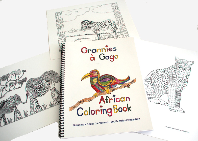 African Coloring Books
